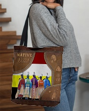 Native Blood Tote All-over Tote aos-all-over-tote-lifestyle-front-09