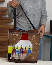 Native Blood Tote All-over Tote aos-all-over-tote-lifestyle-front-10