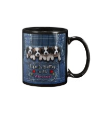 St Bernard Life Is Better Mug tile