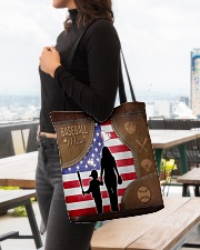 Baseball Mom Tote All-over Tote aos-all-over-tote-lifestyle-front-04