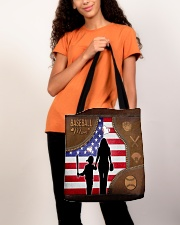Baseball Mom Tote All-over Tote aos-all-over-tote-lifestyle-front-06