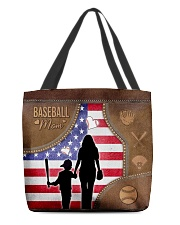 Baseball Mom Tote All-over Tote front