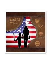 Baseball Mom Tote Sticker - Single (Vertical) thumbnail