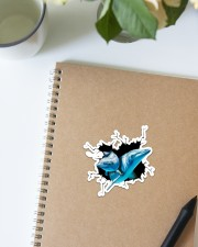 Dolphin Crack Sticker - Single (Vertical) aos-sticker-single-vertical-lifestyle-front-16
