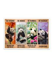 Panda - Be Strong Sticker tile