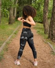 Racing Carbon Flag Crack Leggings High Waist Leggings aos-high-waist-leggings-lifestyle-17