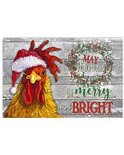 Chicken - May Your Days Be Merry Poster 17x11 Poster front