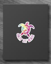 Turtle Salty Lil' Beach Sticker - Single (Horizontal) aos-sticker-single-horizontal-lifestyle-front-10