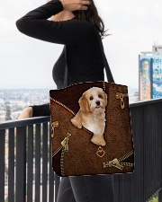 Havanese All-over Tote aos-all-over-tote-lifestyle-front-05