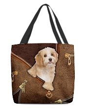 Havanese All-over Tote back