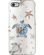 Sea Turtle Starfish Phone Case i-phone-8-case