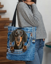 Dachshund All-over Tote All-over Tote aos-all-over-tote-lifestyle-front-09