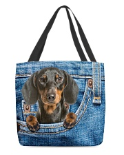 Dachshund All-over Tote All-over Tote back