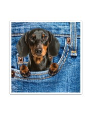 Dachshund All-over Tote Sticker - Single (Vertical) thumbnail