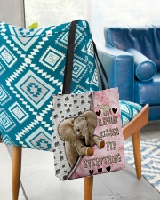 Elephant Kisses Fix Everything Bag All-over Tote aos-all-over-tote-lifestyle-front-01