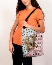 Elephant Kisses Fix Everything Bag All-over Tote aos-all-over-tote-lifestyle-front-07