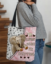 Elephant Kisses Fix Everything Bag All-over Tote aos-all-over-tote-lifestyle-front-09