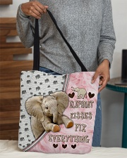 Elephant Kisses Fix Everything Bag All-over Tote aos-all-over-tote-lifestyle-front-10