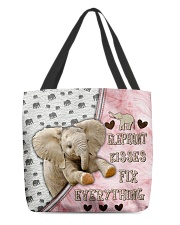 Elephant Kisses Fix Everything Bag All-over Tote front