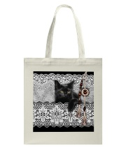 Black Cat Amigurumi  Tote Bag thumbnail