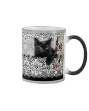 Black Cat Amigurumi  Color Changing Mug thumbnail