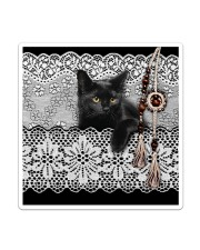 Black Cat Amigurumi  Sticker - Single (Vertical) thumbnail