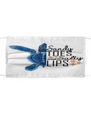 Turtle - Sandy Toes And Salty Lips Cloth face mask thumbnail