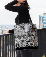 Goat Amigurumi  All-over Tote aos-all-over-tote-lifestyle-front-05
