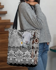 Goat Amigurumi  All-over Tote aos-all-over-tote-lifestyle-front-09
