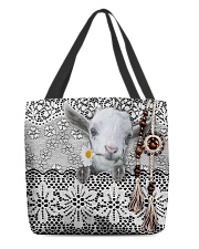 Goat Amigurumi  All-over Tote back