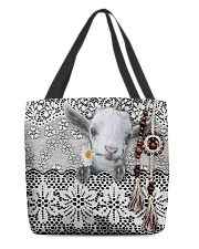 Goat Amigurumi  All-over Tote front