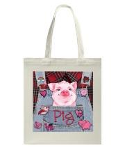 Pig Lover Tote Bag tile