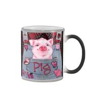 Pig Lover Color Changing Mug tile