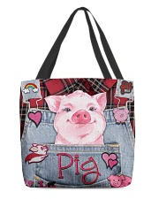 Pig Lover All-over Tote front