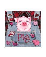 Pig Lover Sticker tile