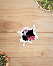 Flamingo Crack Sticker - Single (Vertical) aos-sticker-single-vertical-lifestyle-front-07