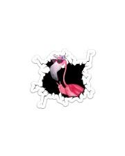 Flamingo Crack Sticker - Single (Vertical) front