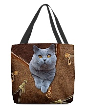 Bristish Shorthair Cat  All-over Tote front