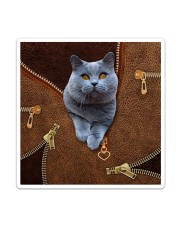 Bristish Shorthair Cat  Sticker - Single (Vertical) thumbnail