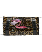 Flamingo - Leopard - Zip Pocket Cloth face mask thumbnail