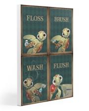 Turtle - Flosh Brush Wash Flush 20x30 Gallery Wrapped Canvas Prints thumbnail