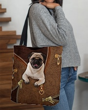 Pug  All-over Tote aos-all-over-tote-lifestyle-front-09