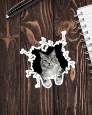 Maine Coon Crack Sticker - Single (Vertical) aos-sticker-single-vertical-lifestyle-front-05