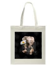Elephant Daisy Tote Bag thumbnail