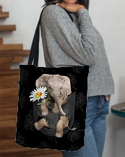 Elephant Daisy All-over Tote aos-all-over-tote-lifestyle-front-09