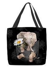 Elephant Daisy All-over Tote back