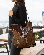 Chihuahua  All-over Tote aos-all-over-tote-lifestyle-front-04