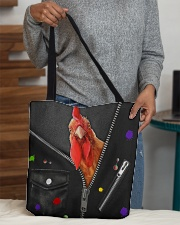 Chicken -  Zip - All Tote All-over Tote aos-all-over-tote-lifestyle-front-10