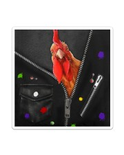 Chicken -  Zip - All Tote Sticker - Single (Vertical) thumbnail