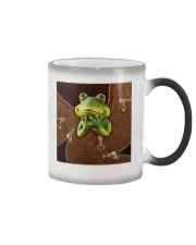 Frog  Color Changing Mug tile